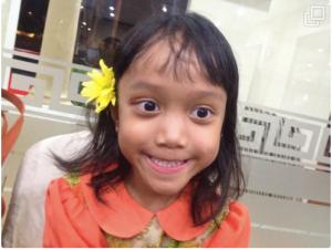 Luna Alandra Prinza 6 tahun